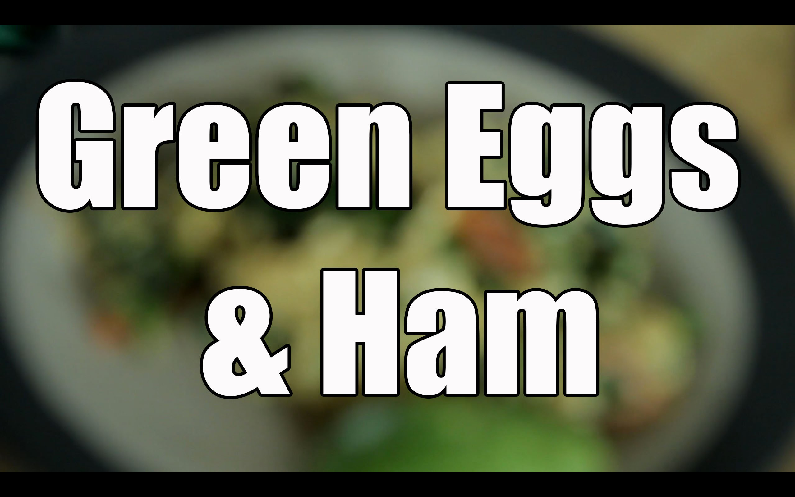 Green Eggs & Ham - Let's Get Ripped! Nutrition Tips