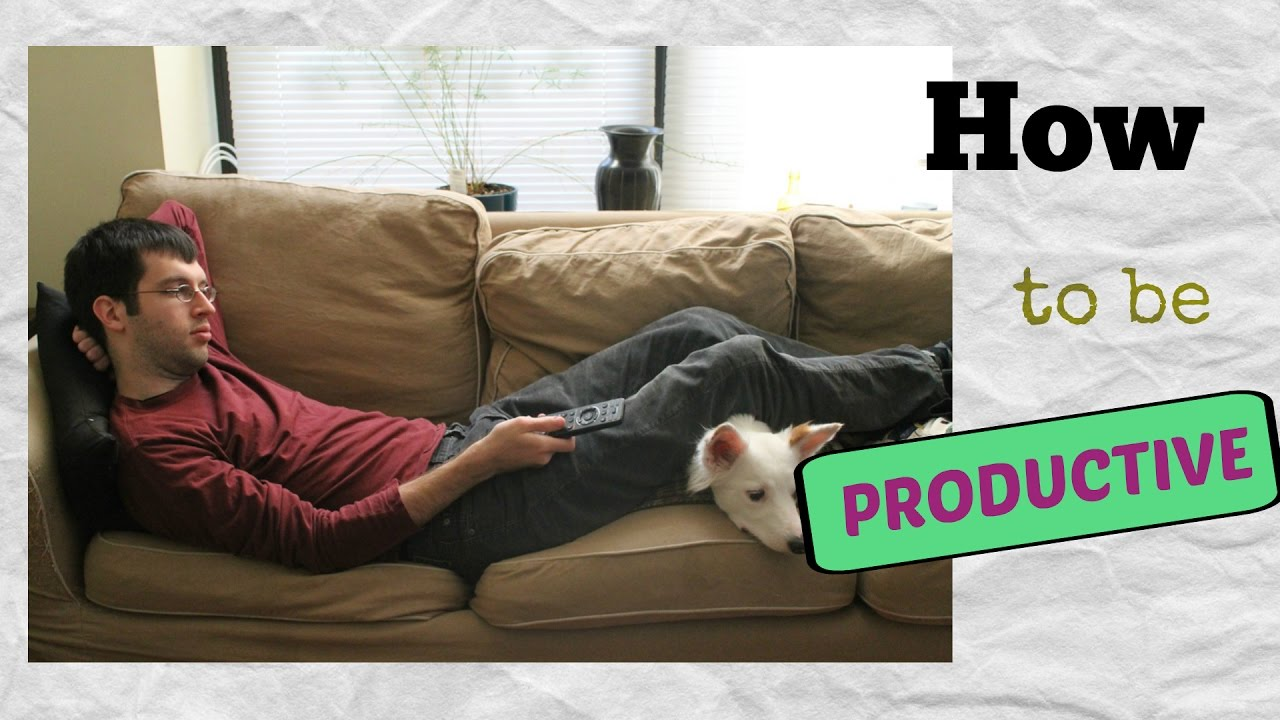 HOW TO STOP BEING LAZY & GET PRODUCTIVE ! LIFE HACKS for Productivity
