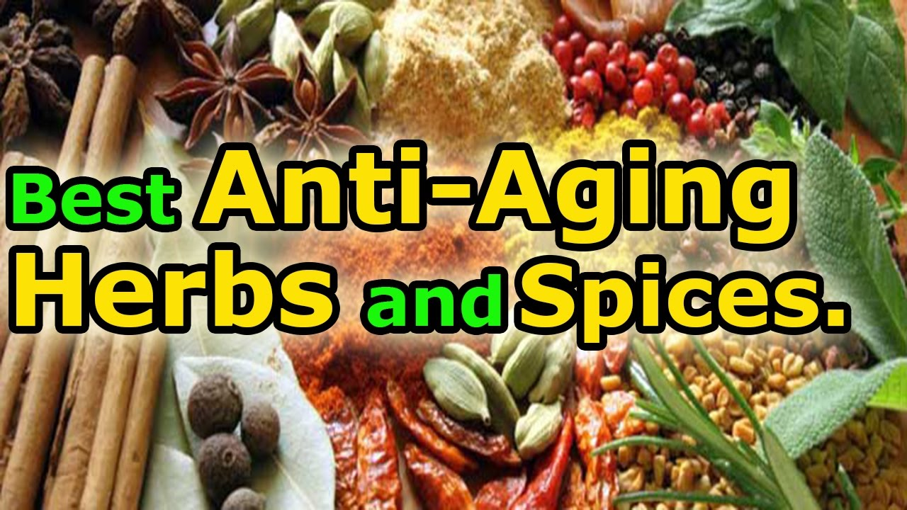 The Top 8 Herbs for Anti Aging Benefits - Top Age-Defying Herbs and Spices.