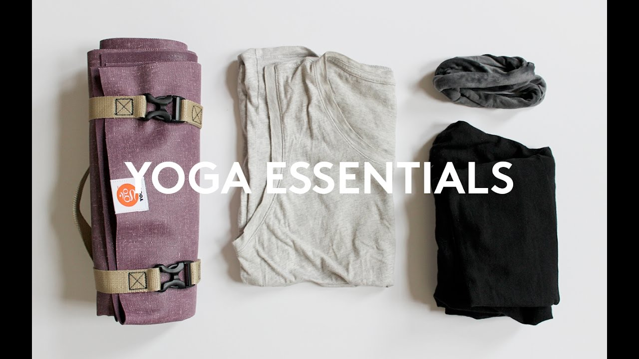 Minimalist YOGA Essentials