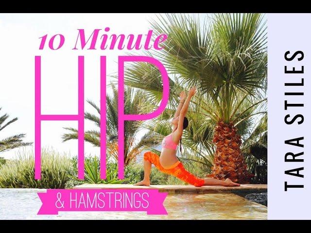 Prenatal 10 Minute Hip & Hamstring Yoga Opener