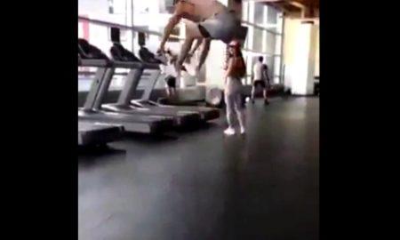Funny Gym Clip